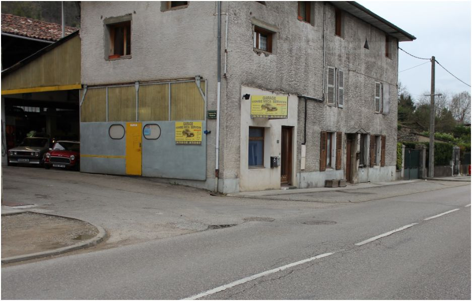 Garage combe commune de l 39 albenc for Garage des communes acheres