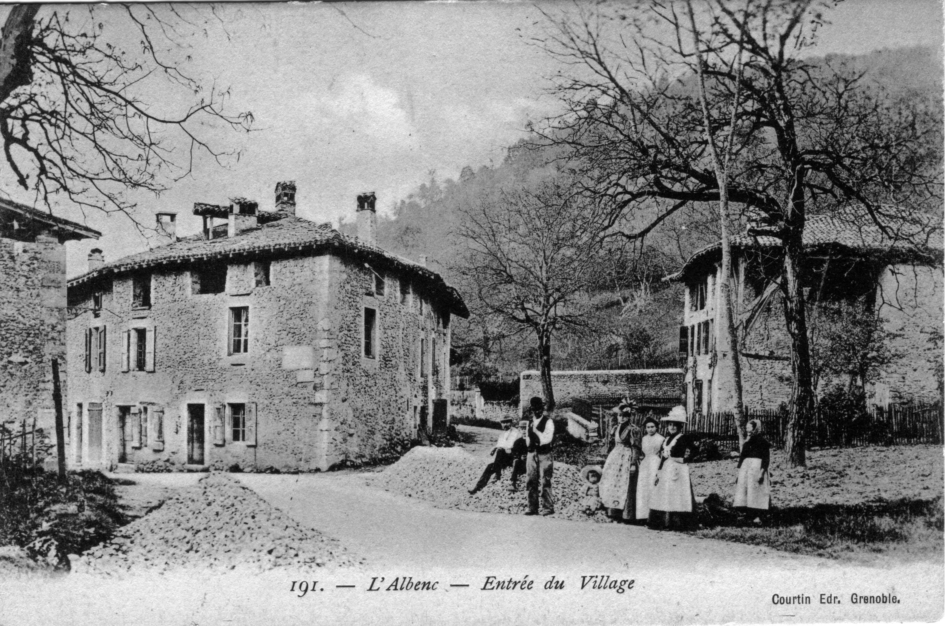 Histoire Amp Patrimoine Commune De L Albenc